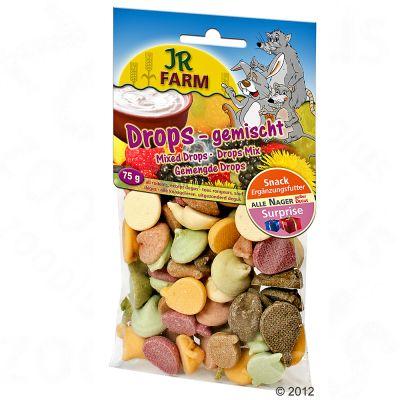 JR Farm Melange de drops pour rongeur - 3 x 75 g