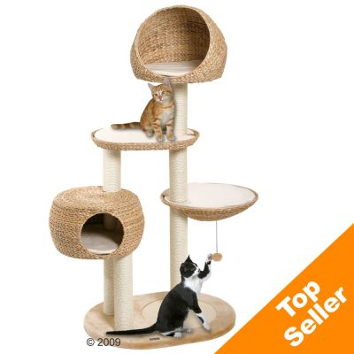 Banana-Leaf Cat Tree Paradise - 103 x 58 x 158 cm