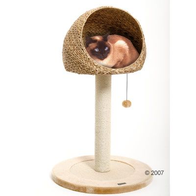 Little Den Scratching Post - natural beige
