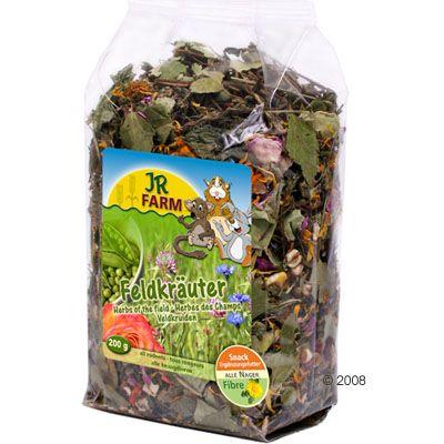 JR Farm Herbes des champs pour octodon - 2 x 200 g