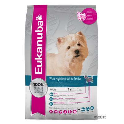 Eukanuba West Highland White Terrier Adult - Economy Pack: 3 x 2.5kg