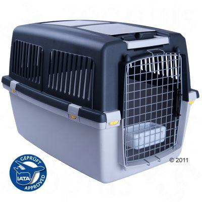 Cage de transport pour chien et chat Gulliver- L 104 x l 73 x H 75 cm (taille 7)