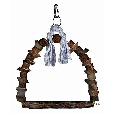 Trixie Bird Swing Nature - Measurements: 22 x 29 cm