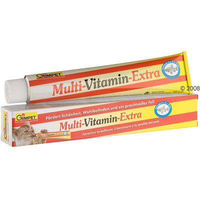 Gimpet Multi-Vitamin-Extra Cat Paste - 220g
