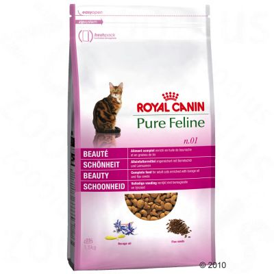 Royal Canin Pure Feline No. 1 Beauty - Economy Pack: 2 x 3kg