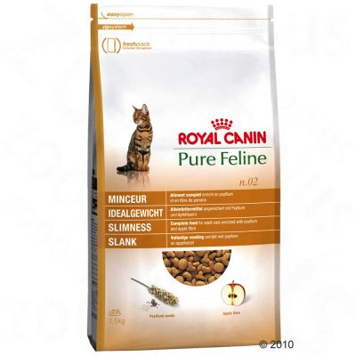 Royal Canin Pure Feline No. 2 Slimness - Economy Pack: 2 x 3kg