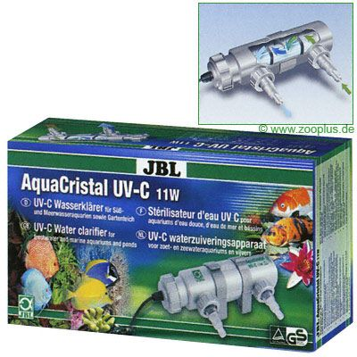 Replacement Bulbs for JBL AquaCristal UV-C Water Clarifier - Replacement Bulb, 5 Watts