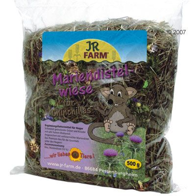 JR Farm Milk Thistle Meadow for Chinchillas - Economy Pack: 3 x  500 g