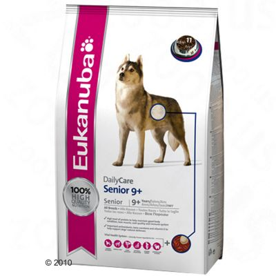 Eukanuba Daily Care Senior 9 Plus - Economy pack 2 x 12 kg