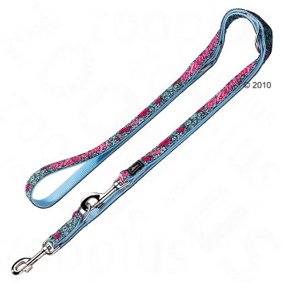 Hunter Adjustable Leash Krazy Hawaii Dog - 200 cm long, 2 cm wide