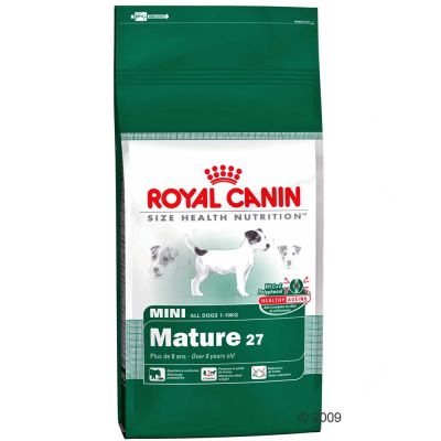 Royal Canin Mini Mature 27 Hundefutter – 8 kg