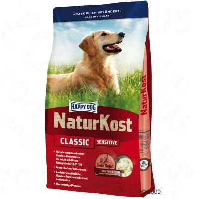 Happy Dog Natur-Kost Classic Sensitive – Sparpaket 2 x 10 kg