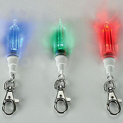 Illuminated Dog Pendant MAXI SAFE - Red/Blue/Green