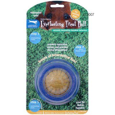 Balle à friandises pour chien Everlasting Treat Ball (M)- 1 balle + 1 friandise