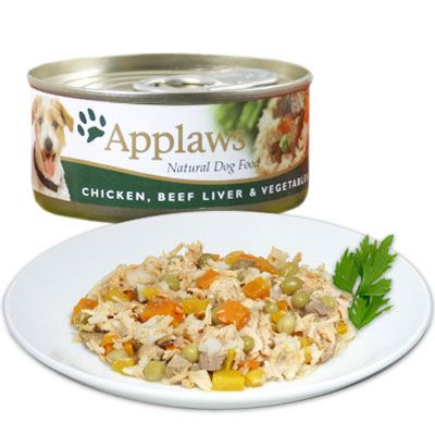 Applaws Dog Food 6 x 156 g - Chicken with Salmon & Vegetables