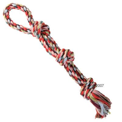 Trixie Multi-Coloured Play Rope - 60 cm, 500 g
