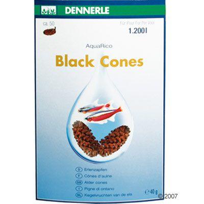 Dennerle Black Cones - ca. 50 pieces
