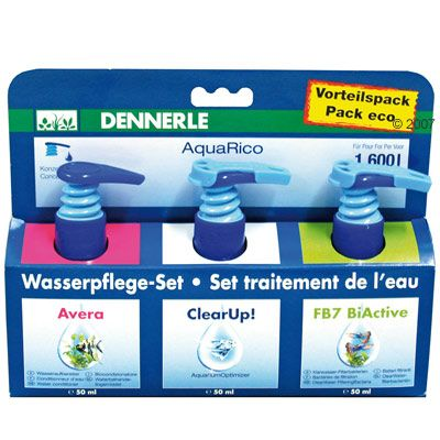 Dennerle AquaRico Water Conditioner-Set - 3 x 50 ml