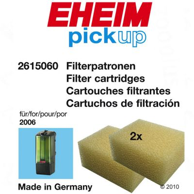 Eheim Ehfi Foam Filter Cartridges - 2 pieces for model 2008