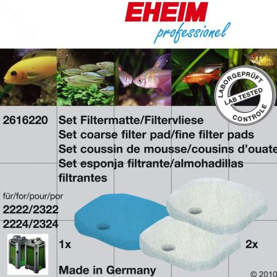 Eheim Filter Pad Set - For models 2226/2228, 2326/2328, 2026/2028, 2126/2128