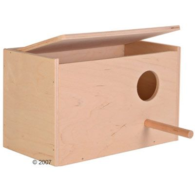 Nesting Box for Budgies - 21 x 13 x 13 cm