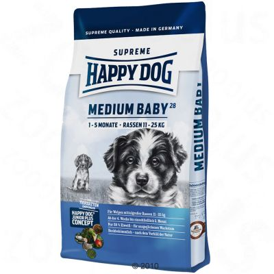 Happy Dog Supreme Medium Baby 28 - Sparpaket 2 x 10 kg