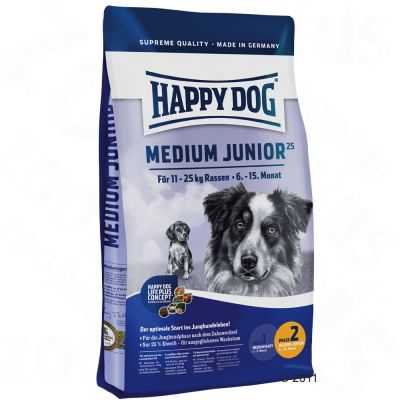 Happy Dog Supreme Medium Junior 25 - 10 kg