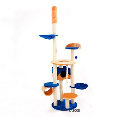 Cat Tree Ambrosia - blue-orange