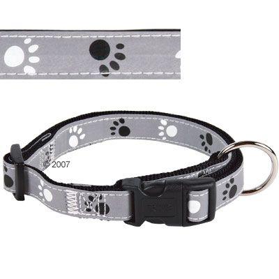 Trixie Halsband Poten Grijs Reflecterend Lxl 40 65 Cm
