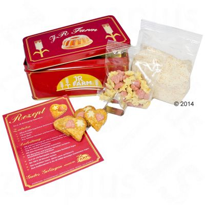 JR Farm Preparation pour biscuits de Noa«l & boa®te a  ga¢teaux - 225 g