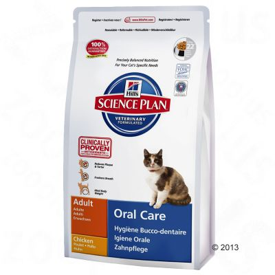 Hill's Science Plan Adult Cat Oral Care - Chicken - 250g