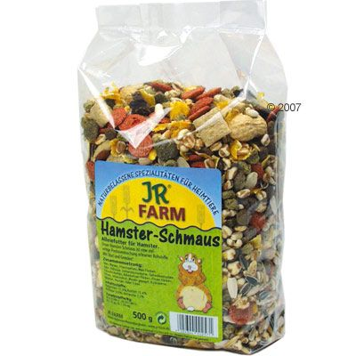 JR Farm Hamster Feast - Economy Pack: 3 x 500 g