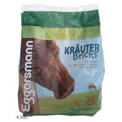 Eggersmann Friandises pour chevaux Bricks aux herbes- 2 x 2,5 kg