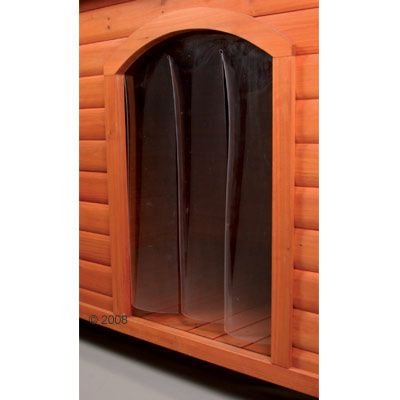 Plastic Door for Dog Kennel Natura - 24 x 36cm (L x H) for Size Small
