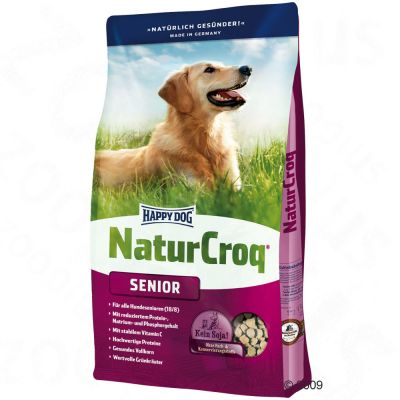 Happy Dog Natur-Croq Senior – 15 kg