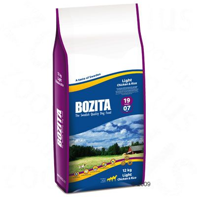 Bozita Light 19/07 - Economy Pack: 2 x 12kg