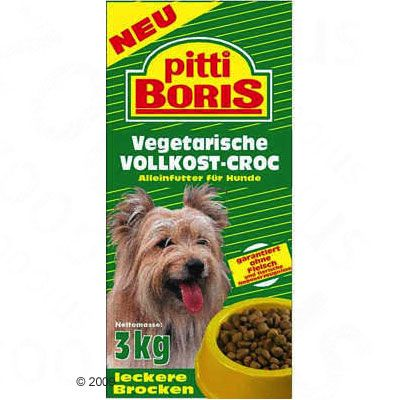 Pitti Boris Vegetarian Complete Meal - Economy Pack: 2 x 15 kg