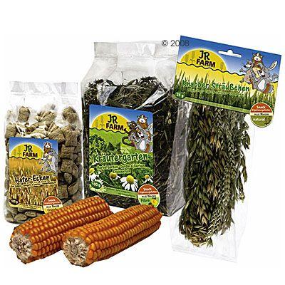 Lot JR Farm Friandises naturelles pour rongeur - 5 friandises