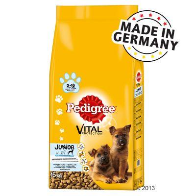 Pedigree Junior Vital Protection Maxi Pollo & Riso - - 15 kg