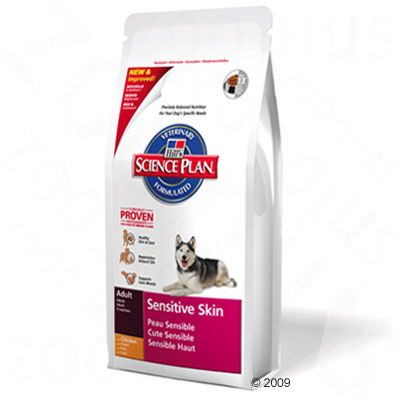Hill´s Canine Sensitive Skin Hundefutter – 3 kg