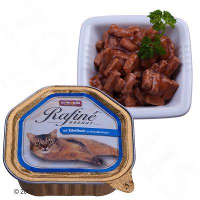 Animonda Rafiné Ragout 6 x 100 g - Duck & Game in Cheese Sauce