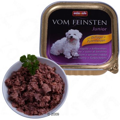 Animonda vom Feinsten for Puppies 6 x 150 g - Poultry Liver