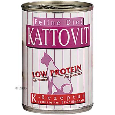 Kattovit Low Protein - Saver Pack: 12 x 400g