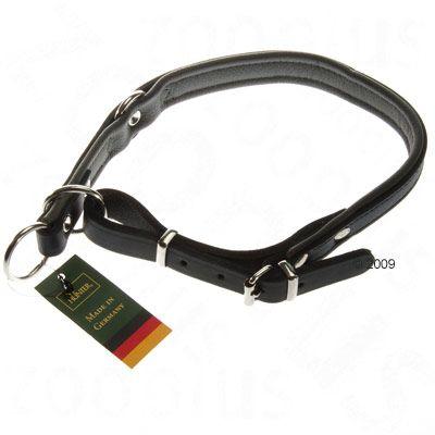 Hunter Flat Dog Collar - Size 50: Adjusts 38 - 45cm