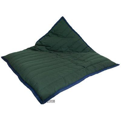 Dog Cushion Freedom (Green/Blue) - 100 x 70 x 7 cm (L x W x H)