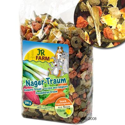 JR Farm Ra�ve de rongeur - 3 x 200 g
