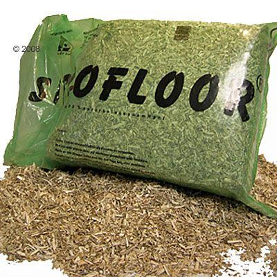 Litière de chanvre bio pour rongeur Siccofloor- 150 l (14,8 kg environ)