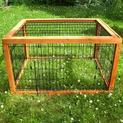 Outback Rabbit Run Special - 132 x 80 x 47 cm (L x W x H)