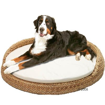 Banana Leaf Pet Sofa Round - 108 x 108 x 22 cm (LxWxH)