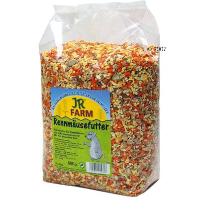 JR Farm Gerbil Food - Economy Pack: 3 x 600 g